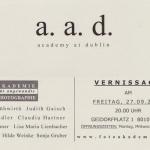 Einladung a.a.d.