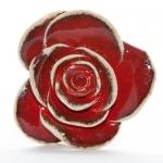 Keramik Rose rot