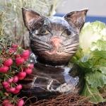 Keramik Katze von isi-way.com