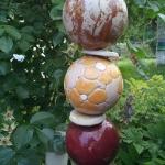 Keramik Gartenstele von isi-way.com