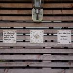 Keramik Spruchtafeln für den Garten von isi-way.com