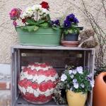 Keramik Kugel - auch als Öllampe verwendbar von isi-way.com
