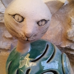 Keramik Katze