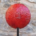 Keramik Gartenstecker