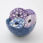 Keramik Anhänger für ein Windspiel