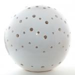 Lichtobjekt Keramikkugel