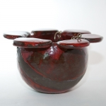 Keramik Blumenampel