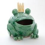 Keramik Froschkönig