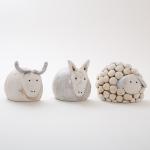 Keramik Krippenfiguren