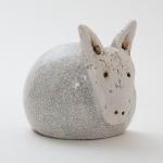 Keramik Esel - Krippenfigur